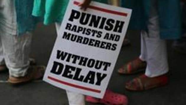 A 14-year-old girl from Meghalaya was raped and sexually assaulted by four men at different locations in the NCR, over five days, after she arrived in the city on August 2.(AP)