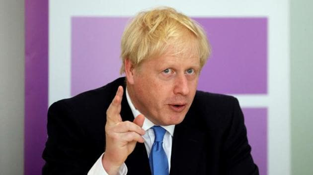 UK Prime Minister Boris Johnson said he plans to spend as much as 2.5 billion pounds ($3 billion) building an extra 10,000 spaces in prisons.(Reuters File Photo)