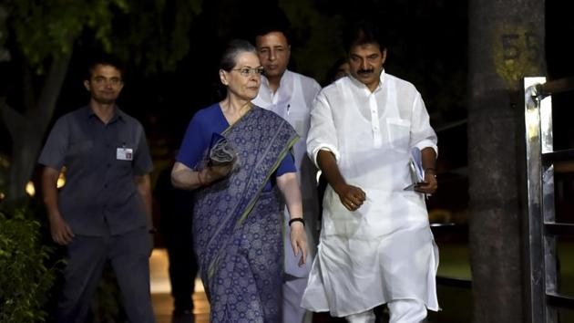 Now 72, Sonia Gandhi may not be able to get back to the ground and revive the party organisation bottom-up, where the cadre is demoralised(PTI)
