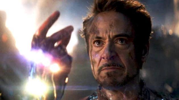 Robert Downey Jr as Tony Stark in a still from Avengers: Endgame.