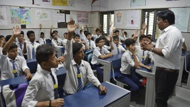 Language teachers posts vacant in Delhi(Sanchit Khanna/HT PHOTO)