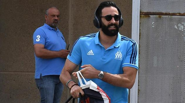 Adil Rami has been sacked by Marseille after skipping training to take part in a reality TV show.(AFP)