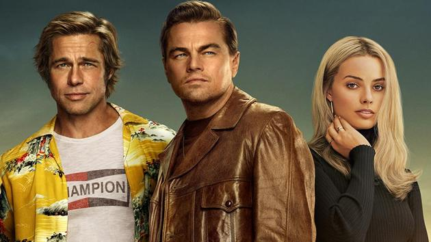 Once Upon a Time in Hollywood movie review: Brad Pitt, Leonardo DiCaprio and Margot Robbie in a poster for Quentin Tarantino's new film.