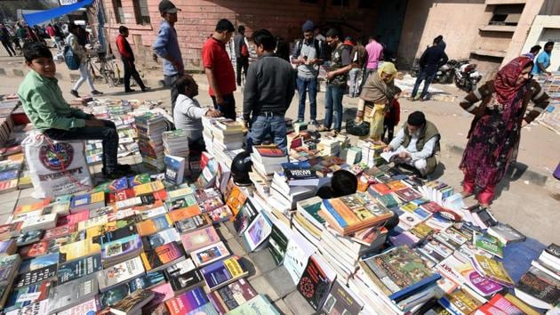 The heritage market status is of prime significance to the booksellers association.(Sonu Mehta/HT PHOTO)