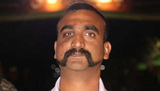 Wing Commander Abhinandan Varthaman was awarded the third-highest wartime gallantry award for shooting down a Pakistani F-16 combat jet on February 27(ANI Photo)
