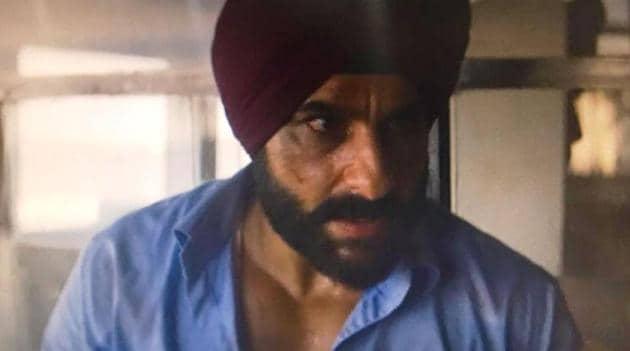 Saif Ali Khan plays Sartaj Singh on Sacred Games.