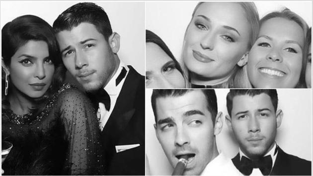Priyanka Chopra and Nick Jonas partied with Joe and Sophie Turner on Friday.
