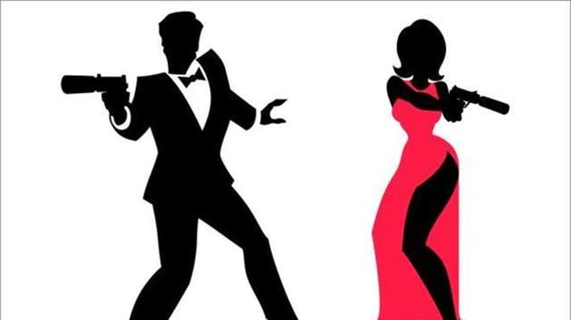 Video of a Rajasthan gang, that has fashioned itself after fictitious British agent 007, dancing with guns, went viral recently.(Shutterstock)