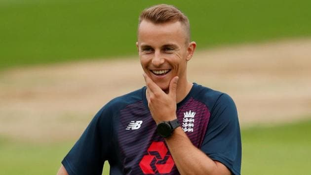File image of England cricketer Tom Curran.(Action Images via Reuters)