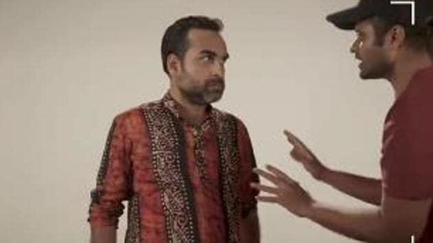 Sacred Games 2 hilarious video shows Pankaj Tripathi auditioning for Ganesh