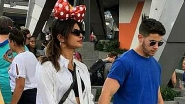 Priyanka Chopra dons a Minnie Mouse hat, looks gorgeous as she visits