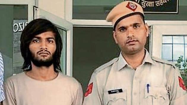 Tarun Tyagi evaded arrest over the past two years as he kept switching locations.(HT image)