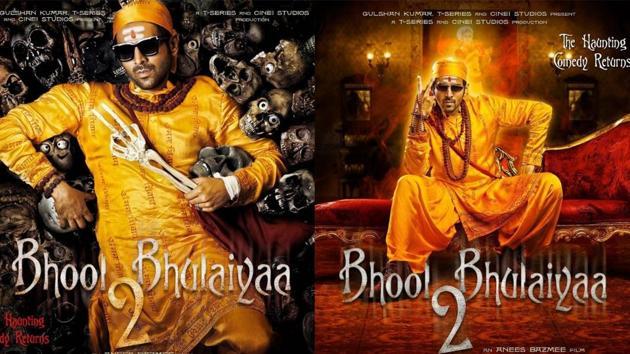 Bhool Bhulaiyaa 2 first look: Kartik Aaryan turns a ghostbuster but with a