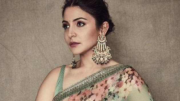 Anushka Sharma was recently seen in a classic Sabyasachi saree.(Anushka Sharma /Instagram)