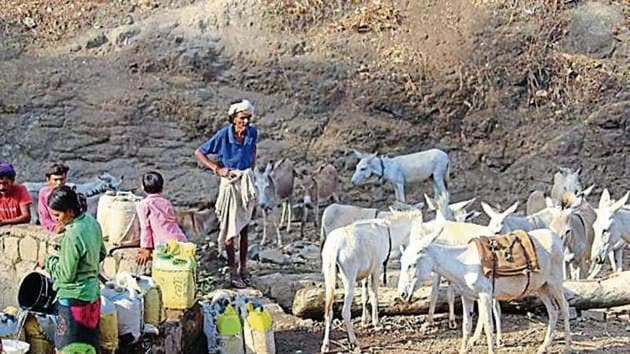 Climate change and monsoon failures have repeatedly caused droughts in UP's Bundelkhand.(Sourced)