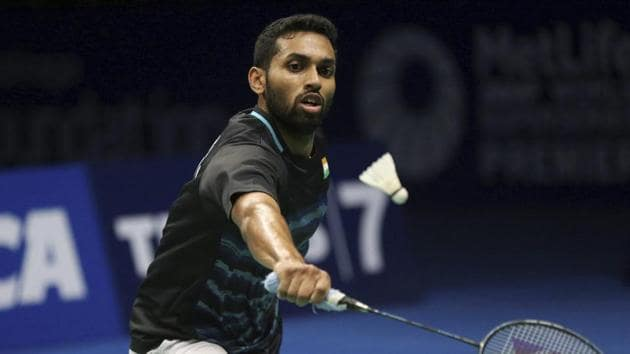File photo of H.S. Prannoy at Indonesia Open.(AP)