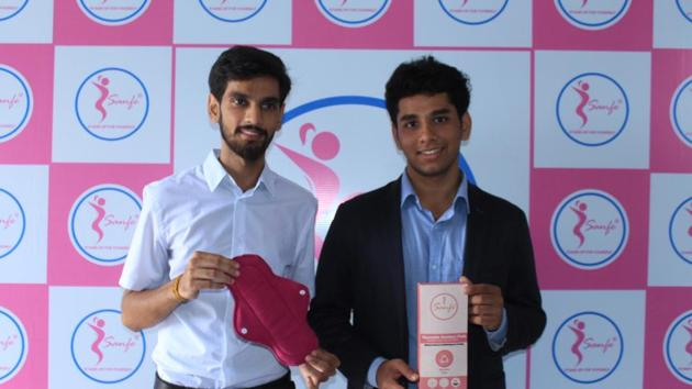 (L-R) Harry Sehrawat, Co-founder, Sanfe and Archit Aggarwal, Founder, Sanfe.(Handout)