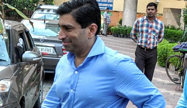 Businessman Ratul Puri was arrested by the Enforcement Directorate in a bank fraud case on Tuesday.(ANI)