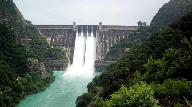 The water level in the Bhakra dam till the evening of August 19 was 1,681 feet, one foot over the critical mark of 1,680 ft.(ANI)