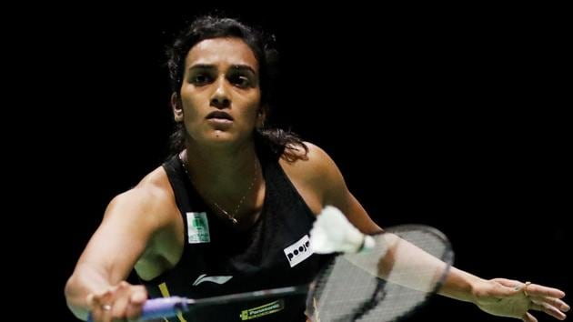 PV Sindhu in action.(REUTERS)