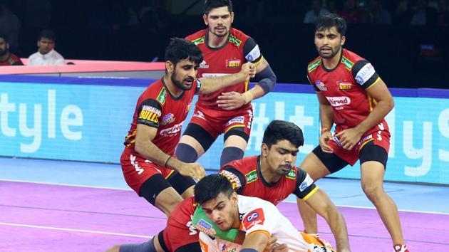 Puneri Paltan beat Bengaluru Bulls 31-23(PKL)