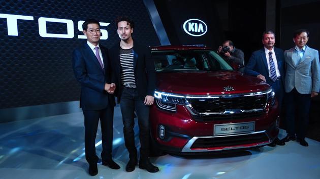 Tiger Shroff launches Kia Motors' Seltos in Mumbai, calls the SUV 'badass'