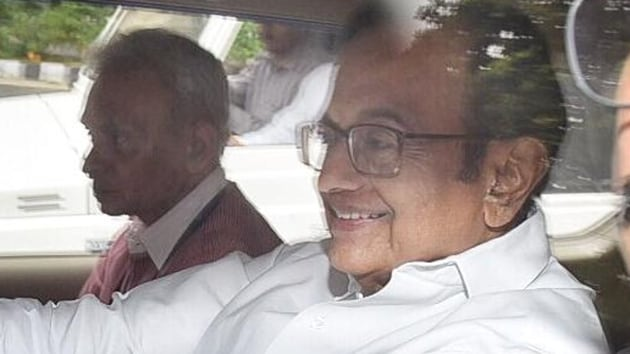 """The CBI said Chidambaram's custodial interrogation was necessary to unearth the """"quid pro quo and larger conspiracy"""" and he is required to be confronted with documents. (Raj K Raj/HT Photo)"""