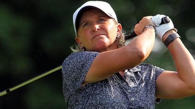 A file photo of golfer Becky Morgan.(Getty Images)