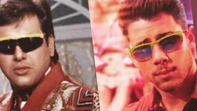 Nick Jonas finds this comparison with Govinda and his yellow-rimmed glasses quite 'accurate'.