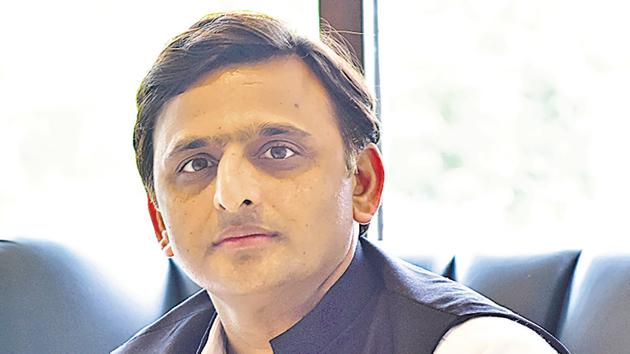 Samajwadi Party (SP) national president Akhilesh Yadav on Friday dissolved the state and district executives of the party, a move that is seen as a course correction in the organisation following the SP's Lok Sabha poll debacle.(Deepak Gupta/ Hindustan Times)