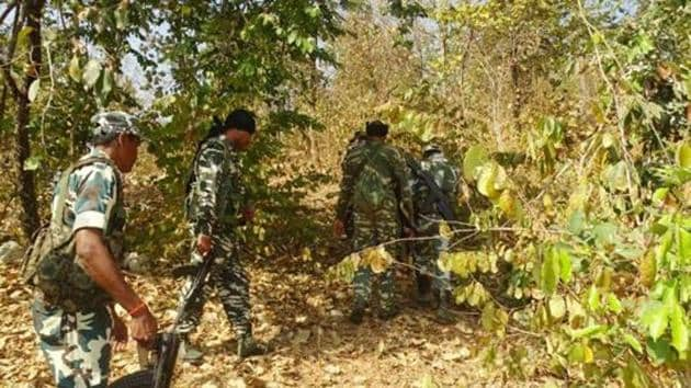 The encounter between Moaists and Chhattisgarh Police took place in the jungles of Abujhmad in Naryanpur district of Bastar region.(HT FILE PHOTO)