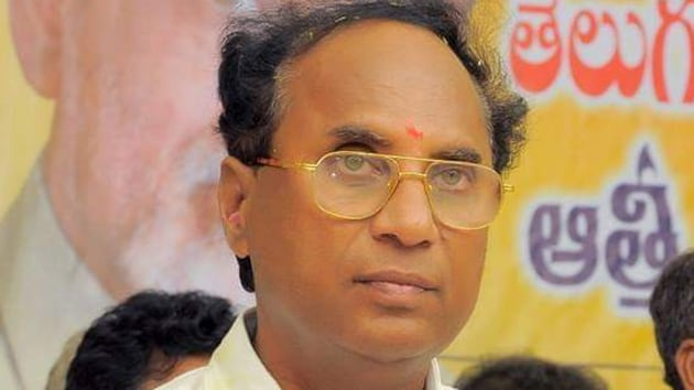 Former speaker of Andhra Pradesh state legislative assembly and senior Telugu Desam leader Kodela Sivaprasada Rao(HT Photo)