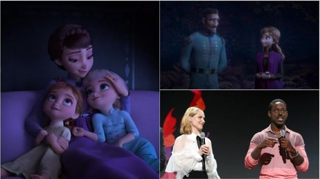 Evan Rachel Wood and Sterling K Brown are the new additions to Frozen 2 cast.
