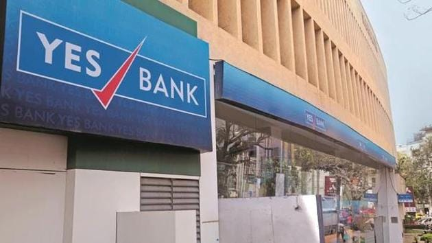 Yes Bank stocks has fallen 84.75% over the past year.(Mint photo)