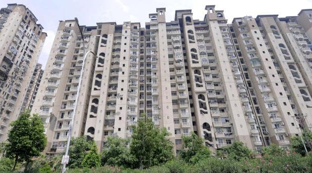 The Supreme Court has ordered disbursal of Rs 7.16 crore to NBCC for completion of stalled projects of Amrapali builder.(Sunil Ghosh / Hindustan Times)