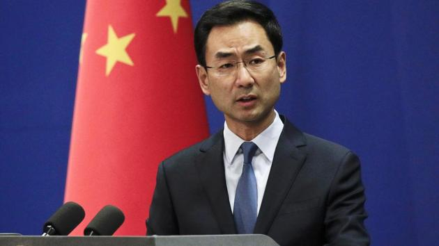 Chinese Foreign Ministry spokesman Geng Shuang, expressed strong dissatisfaction and resolute opposition to the statement made by the leaders of the G7 Summit on Hong Kong affairs.(AP Photo)