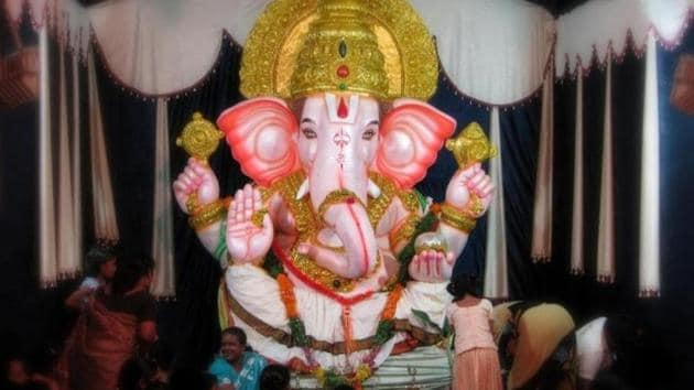 Ganesh Chaturthi 2019: There is a lot of excitement weeks before Ganesh Chaturthi, with people making clay idols of Ganesha and painting them.(Unsplash)