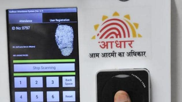 The Centre will refer to the Aadhaar Act and the Supreme Court's 2017 privacy judgement.(HT Photo)
