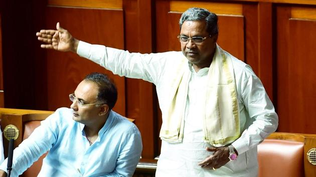 Former Karnataka Chief Minister Siddaramaiah said the Congress would be forced to protest if the plan to shut down Indira Canteen continued.(PTI PHOTO.)