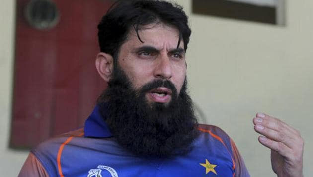 A file photo of former Pakistan cricket team's captain Misbah-ul-Haq.(AP)
