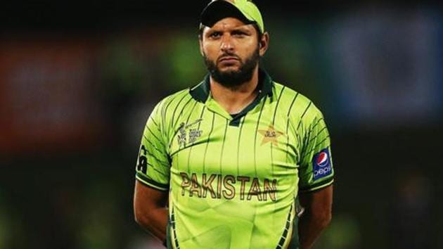 Shahid Afridi of Pakistan to attend Kashmir Hour organised by the Pakistan Army.(Getty Images)