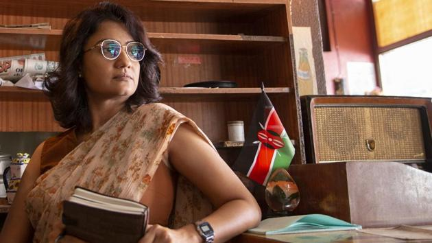 Amruta Subhash is powerful and understated as intelligence agent Kusum Devi Yadav in Sacred Games 2.(Zishaan A Latif / Netflix)
