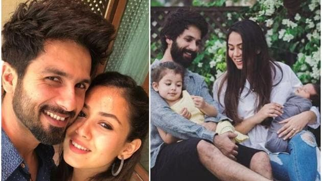 Shahid Kapoor and Mira Rajput married in 2015 and have two children together.(Instagram)