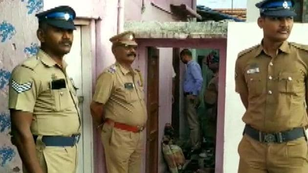 The National Investigation Agency (NIA) on Thursday searched five locations in Tamil Nadu's Coimbatore district, said police.(ANI/Twitter)