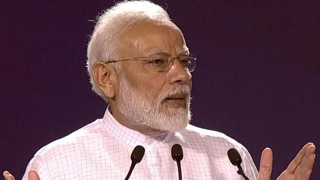 Top quotes from PM Modi'sNew Delhi speech at New Delhi's Indira Gandhi Indoor Stadium(ANI image)