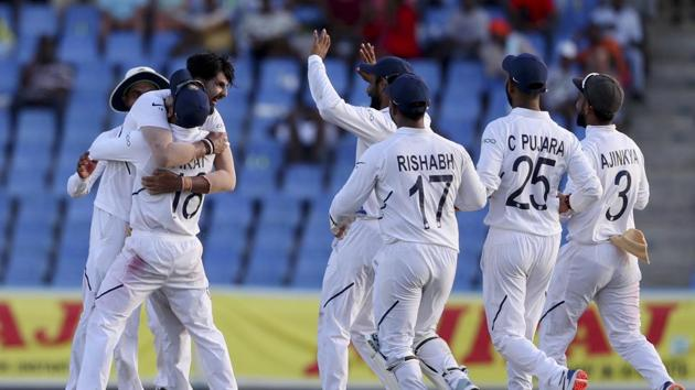 India defeated West Indies in the first match of their World Test Championship campaign(AP)