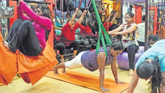 People are not active enough worldwide, and Indians are even less so. Less than 10% adults in India meet the World Health Organisation-recommended standards of physical activity.(HT file photo)