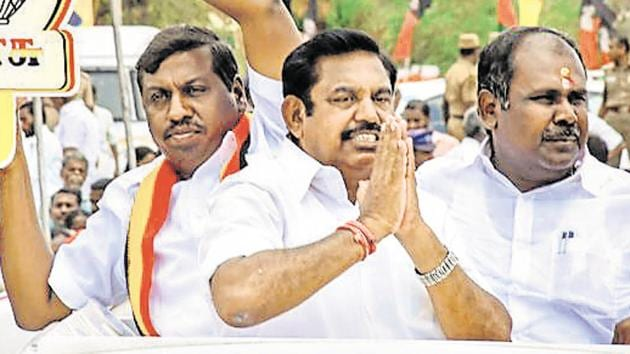 Chief Minister of Tamil Nadu Edappadi K. Palaniswami could be following in late Jayalalithaa's footsteps, say experts(PTI Photo)