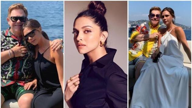 Deepika Padukone says she wants a dress worn by Victoria Beckham.(Instagram)