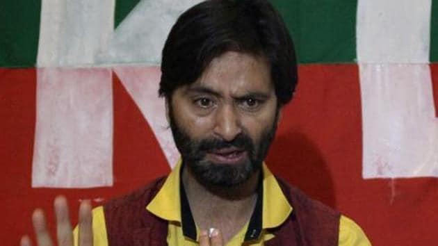 Yasin Malik was under Dr. Kaul's treatment for his cardiac ailments.(HT FILE)